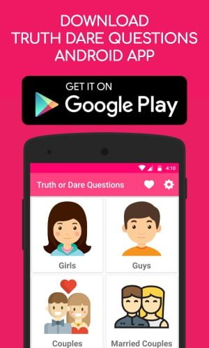 Truth or Dare Questions Android Application